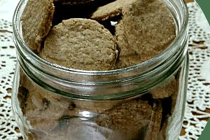 Biscoitinhos de aveia