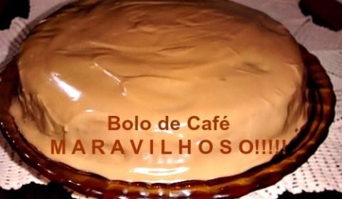 Receita de Bolo de Café
