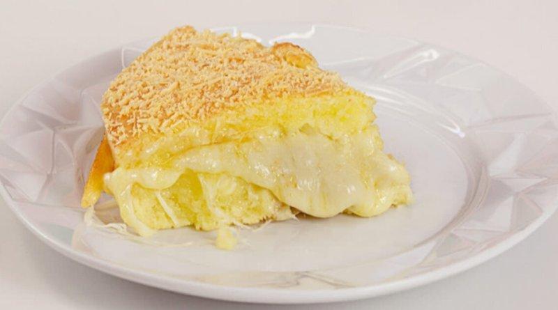 Torta Pão de Queijo e Tapioca