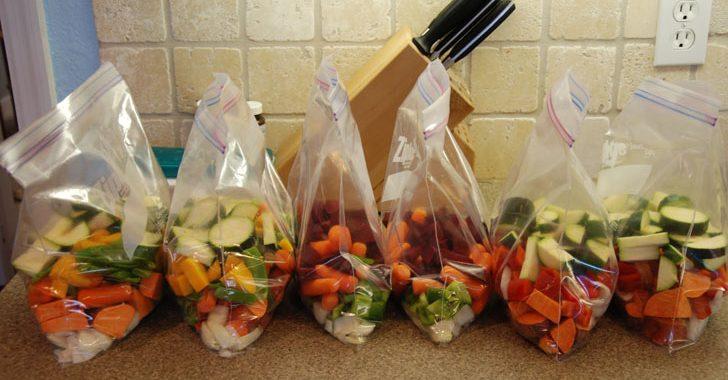 10 tipos de legumes que você pode congelar-e como fazer corretamente