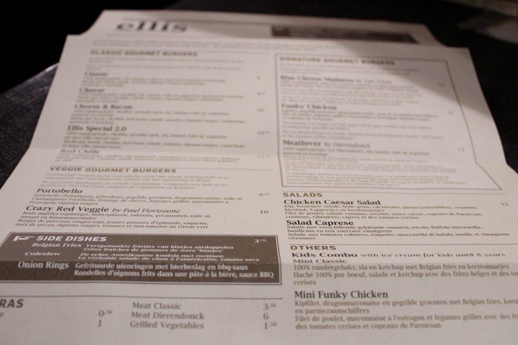 Onde comer em Bruxelas   Ellis Gourmet Burger