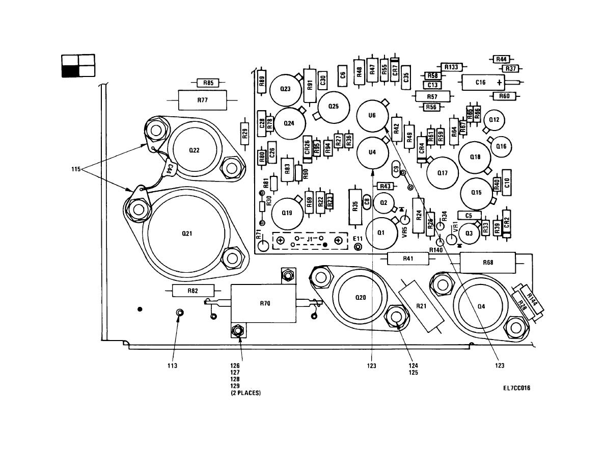 Figure 3 Power Regulator Circuit Card Assembly 1a1a1