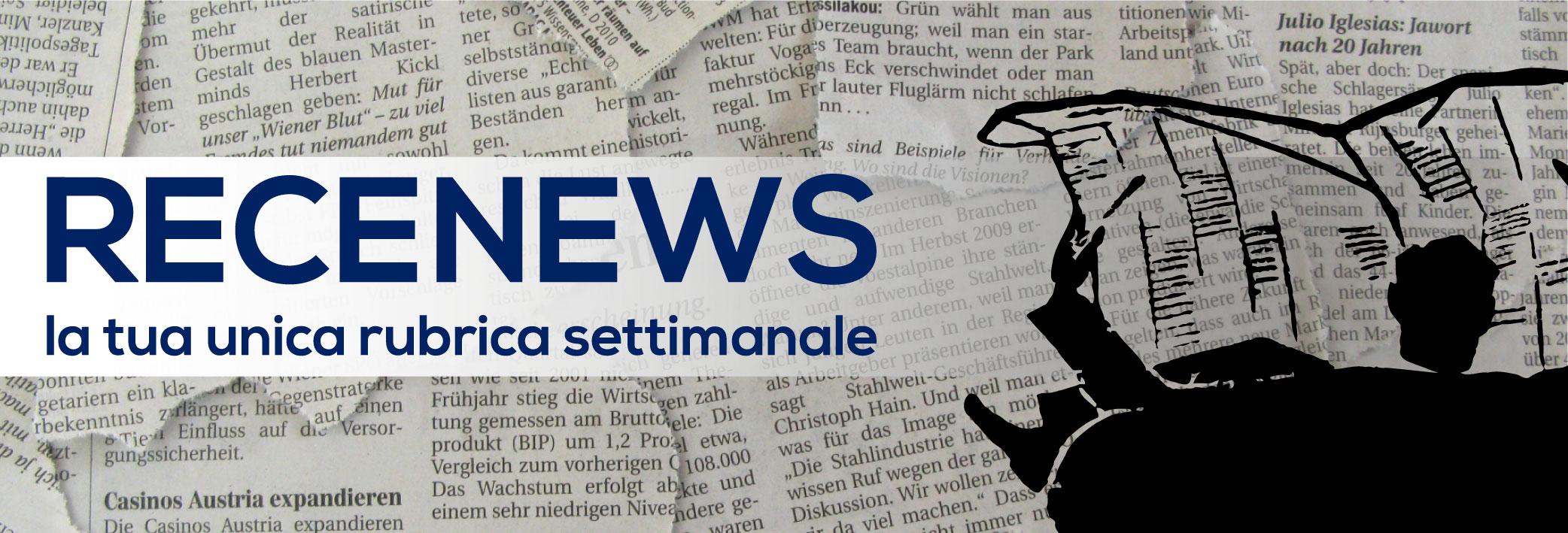 Recenews_news settimanali