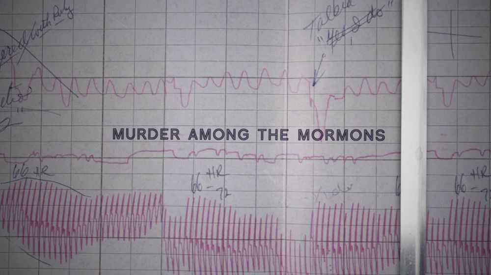 Omicidio Tra I Mormoni