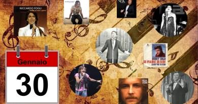 AlmanaccoMusicale 30 gennaio