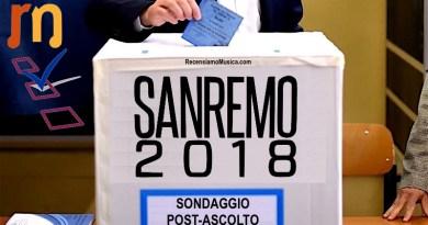 Sondaggio Sanremo - PostAscolto