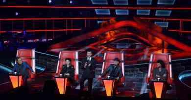 "Milano, Trasmissione Tv ""The Voice of Italy"". Rai2."