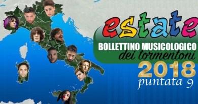 Tormentoni 2018 - Bollettino Musicologico Puntata 9