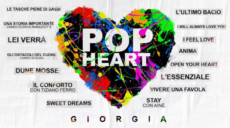 """Giorgia annunca tutti i brani di """"Pop Heart"""" - TRACKLIST"""