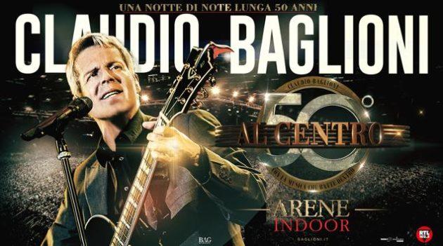 """Claudio Baglioni ed il suo nuovo tour """"Al centro"""" 2018/2019: date e scaletta"""