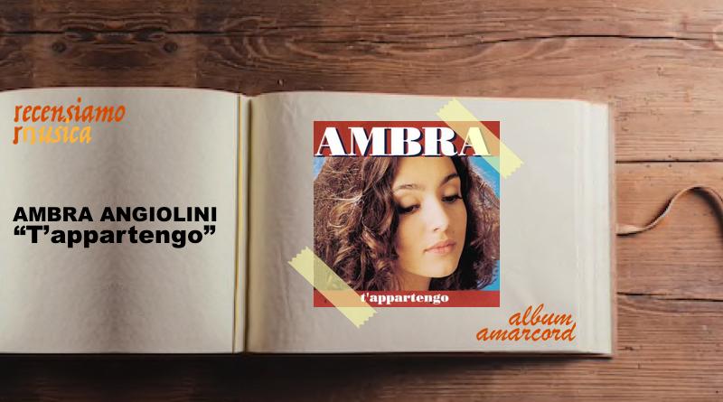 """Ambra Angiolini, venticinque anni di """"T'appartengo"""""""