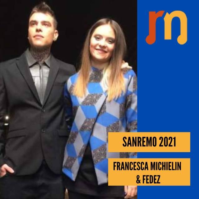 Fedez e Francesca Michielin - Sanremo 2021