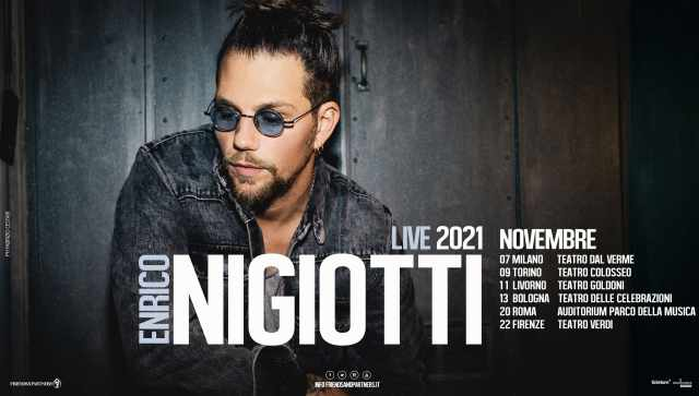 Enrico Nigiotti concerti 2021
