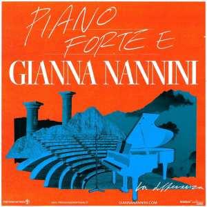 Piano e voce e Gianna Nannini tour