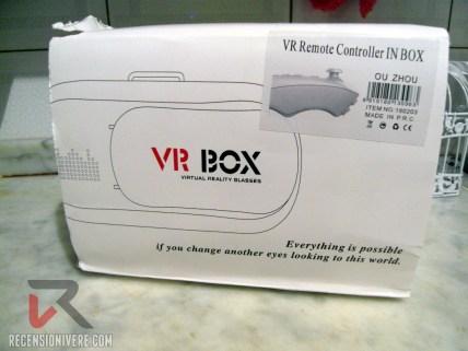 VR Box confezione
