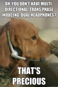 headset meme features