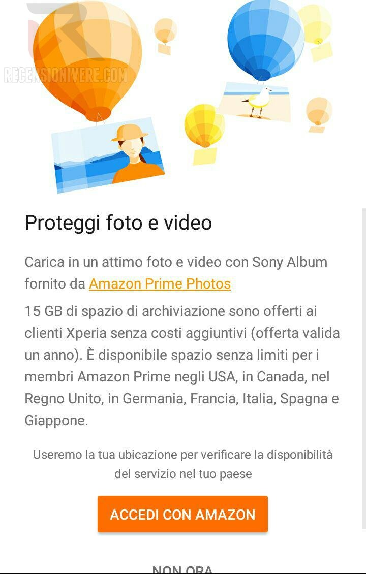 xperia cloud amazon
