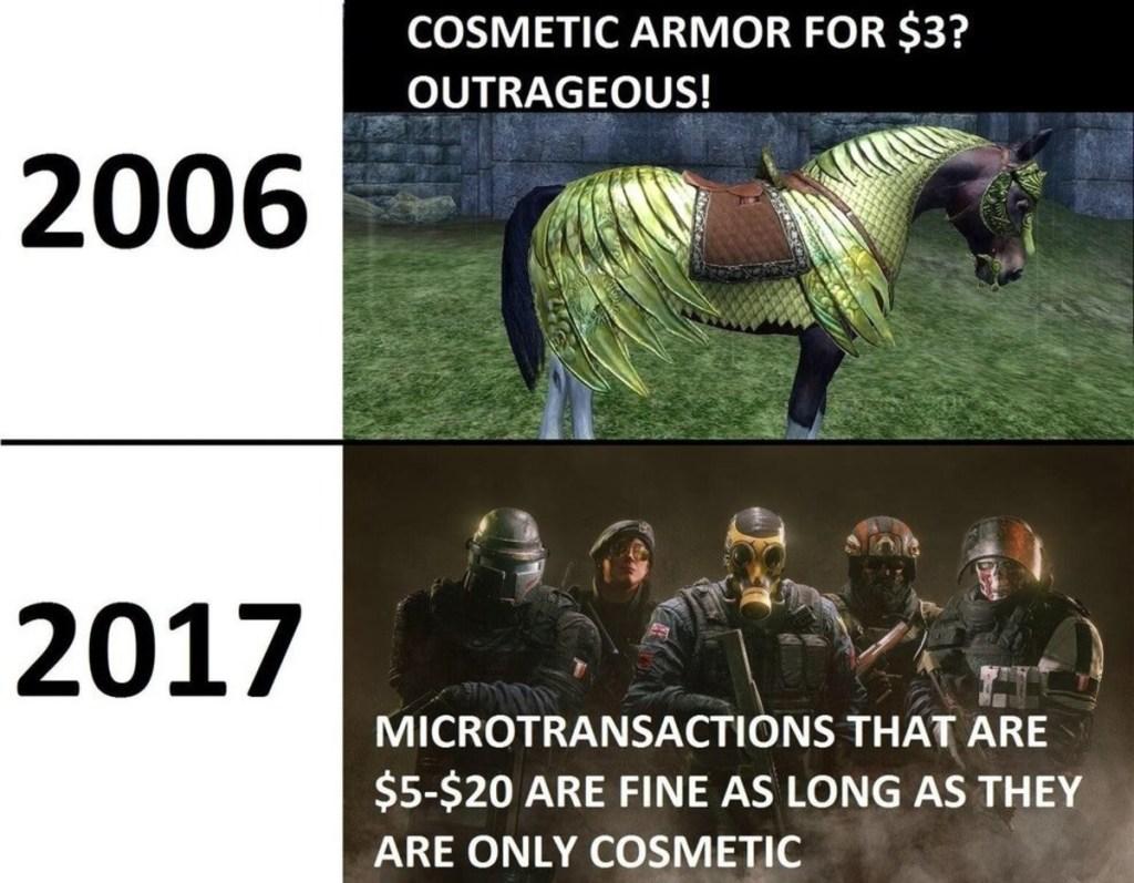 Microtransazioni meme