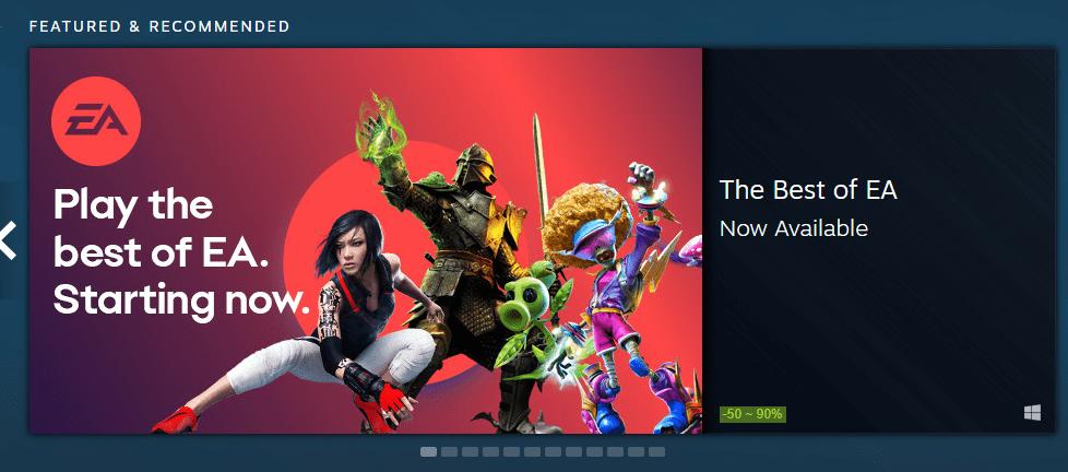 EA su Steam