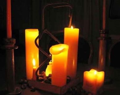 rebar candles