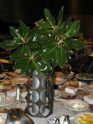 Steel & Aluminum tube Centerpiece by Recentered Pieces