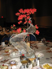 Mesh Centerpiece from GaMPI Event