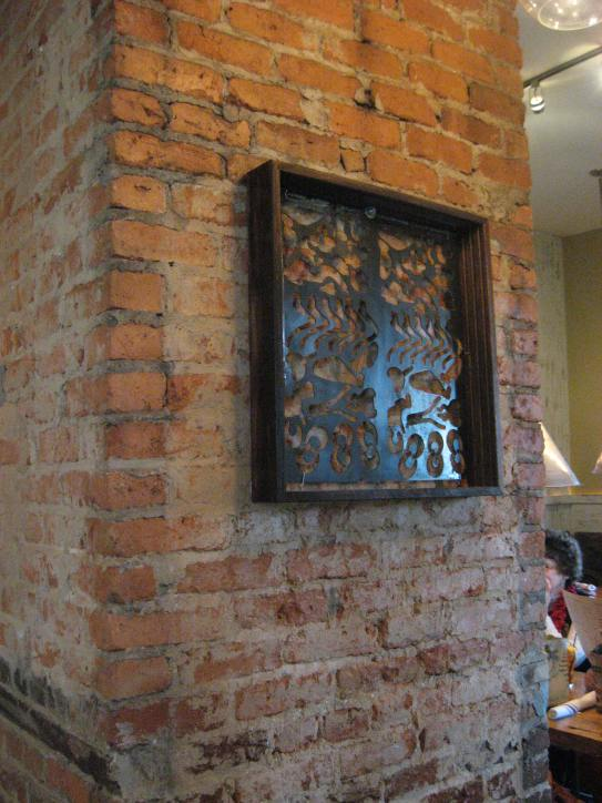 Century House Tavern detail by Recentered Pieces