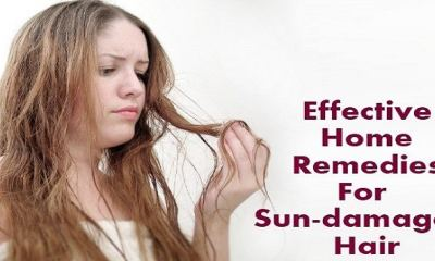7 remedies to treat sun damaged hair naturally
