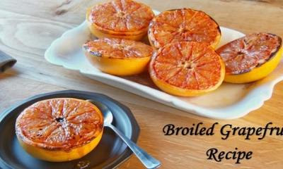 Dessert Special: Try This Quick Broiled Grapefruit Recipe
