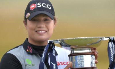 Ladies Scottish Open: Thailand's Ariya Jutanugarn wins at Gullane