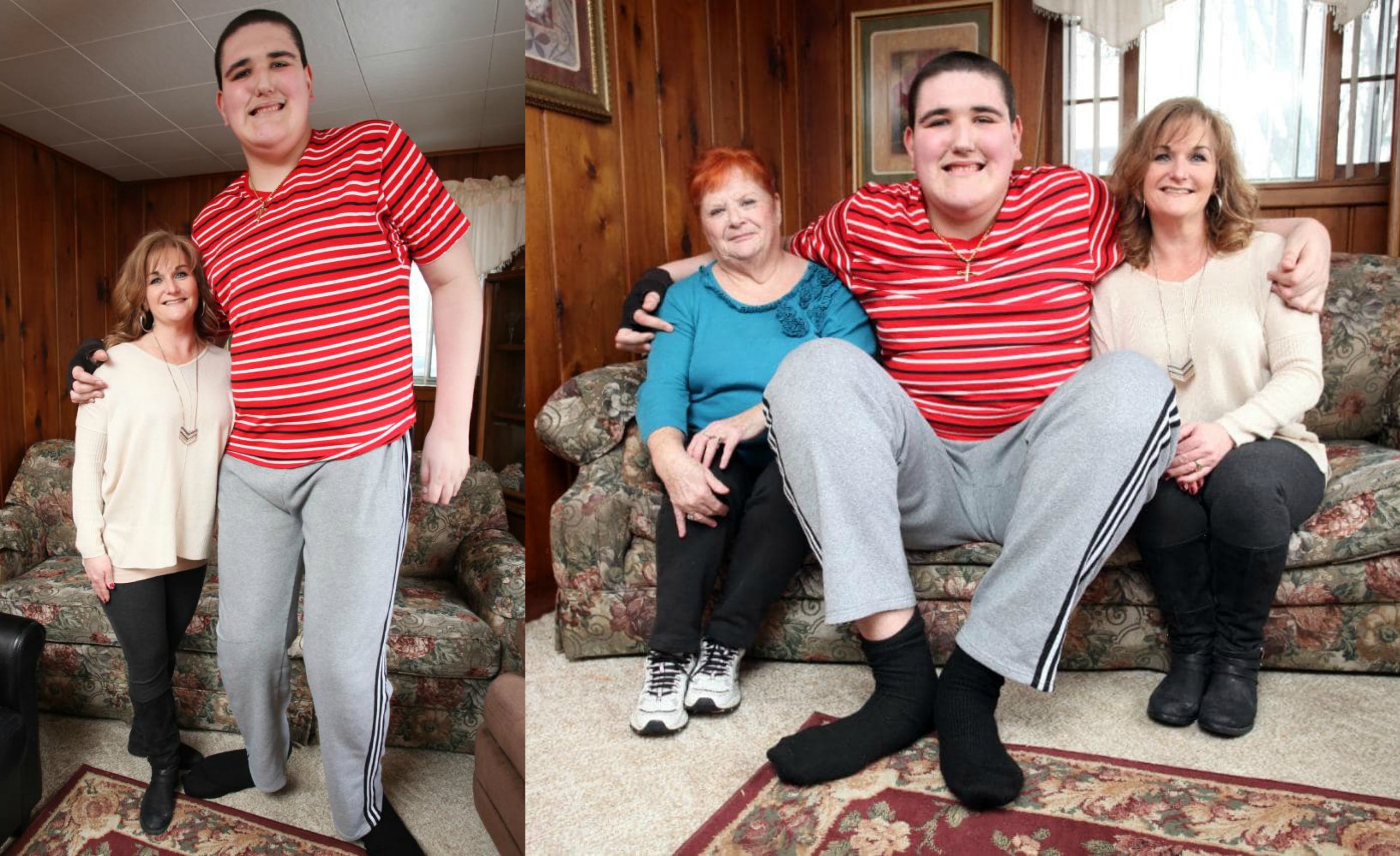 BROC BROWN: Inside The Life Of The U.S.A.'s Tallest Teenager