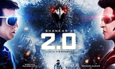 Rajinikanth-Akshay Kumar's 2.0 earns record breaking Rs.120 crore in its advance booking only!