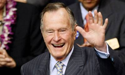 41st US President George H.W.Bush Dies at the Age of 94