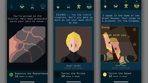 Reigns: Game Of Thrones – 8/10