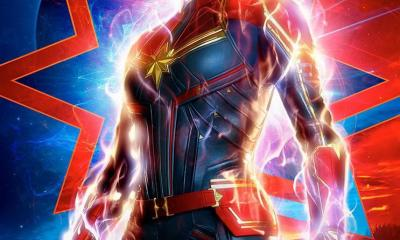 New captian marvel charater