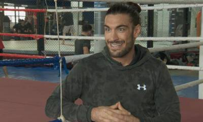 Full contact with Elias 'The Spartan' Theodorou ahead of UFC 231