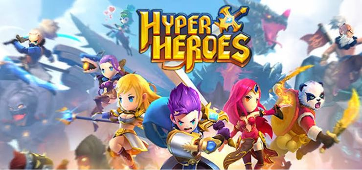 Hyper Heroes: Marble-Like RPG (29 MB and In-app download)
