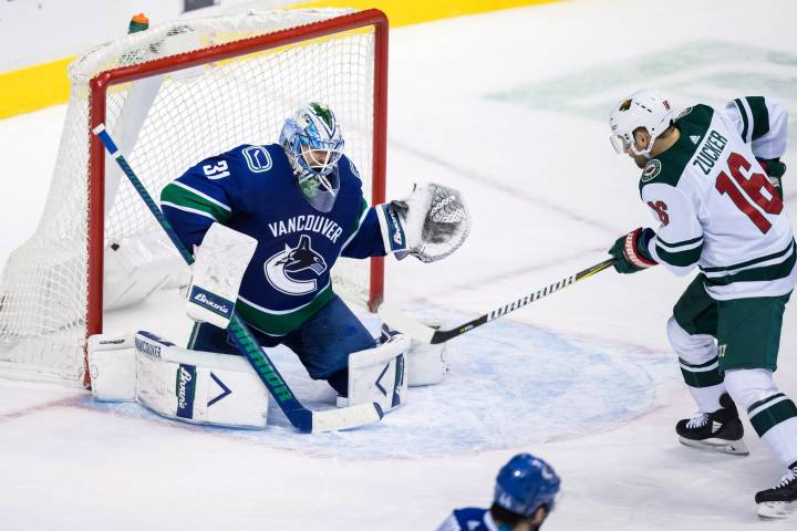 Power-play goals lift Minnesota Wild to 3-2 win over Vancouver Canucks