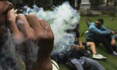 Smoking cannabis can alter a person