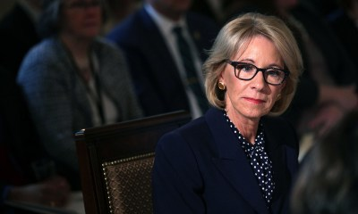 Betsy DeVos Defends Cutting $18 Million in Special Olympics Funds