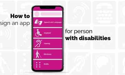 How to design an app for person with disabilities