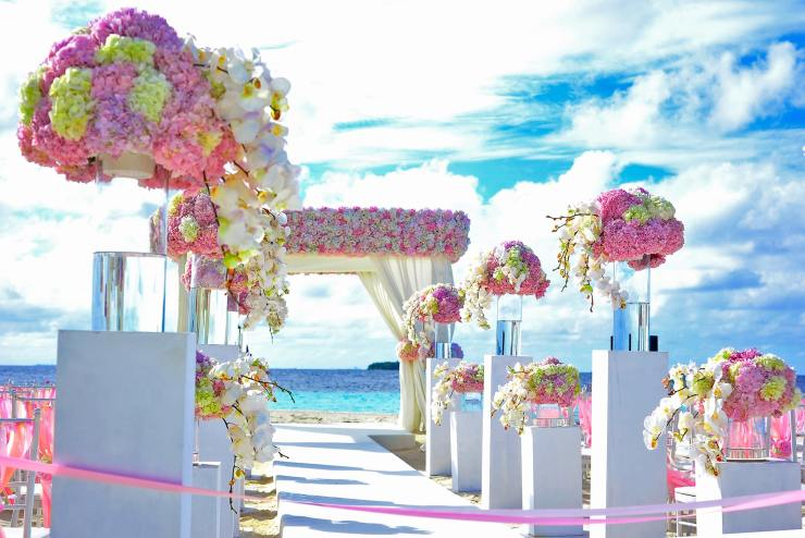 Finalize your Wedding Events