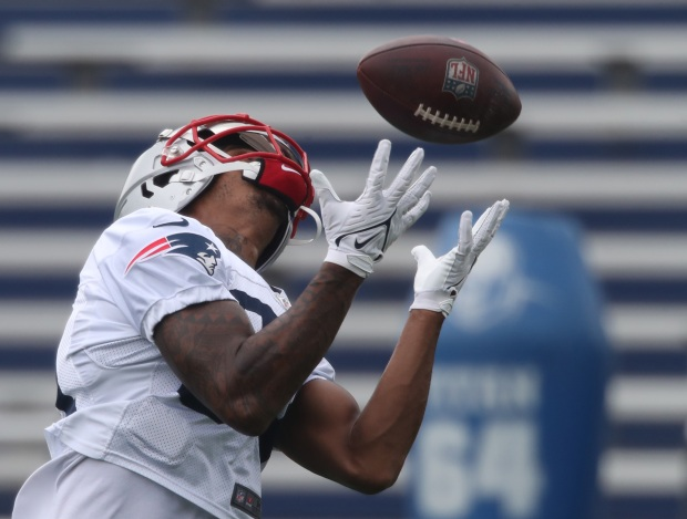 1631851000 694 Patriots down two starters for a second straight practice Thursday