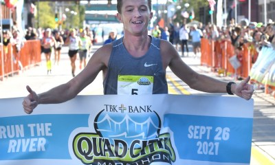 Illinois man wins marathon after 2 leaders take wrong route