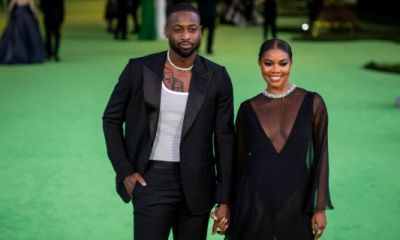Blessed & Bulging: Gabrielle Union Had To Explain Eggplant Emojis To Dwyane After Snaps Of His STUFFED Slim Fit Slacks Sparked An Influx Of Vegetal Viewers