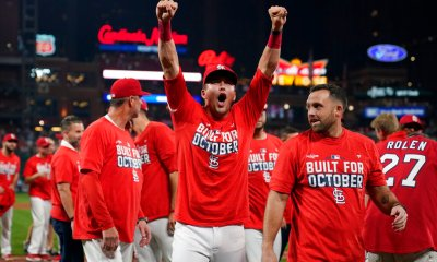Show you're 'Built for October' in Cardinals postseason gear