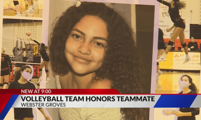 Webster Groves volleyball team plays in honor of teammate who drowned