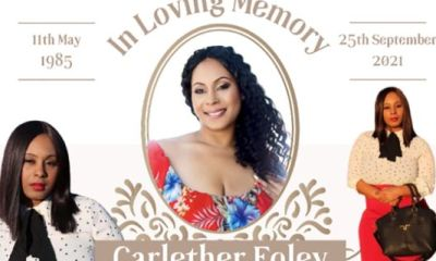 #CarletherFoley Black Aspiring Actress Fatally Shot By Neighbor Who Says He 'Accidentally Fired' While Cleaning His Gun