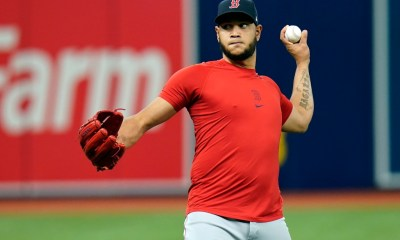 Red Sox Notebook: Eduardo Rodriguez to start Game 1, Chris Sale likely for Game 2 of the Division Series vs. Rays