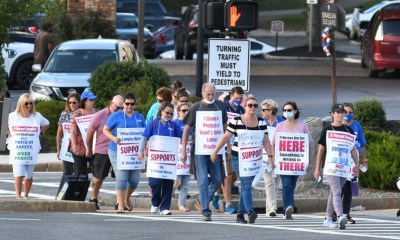 St. Vincent nurses on strike can no longer get unemployment, may have to refund benefits to Massachusetts